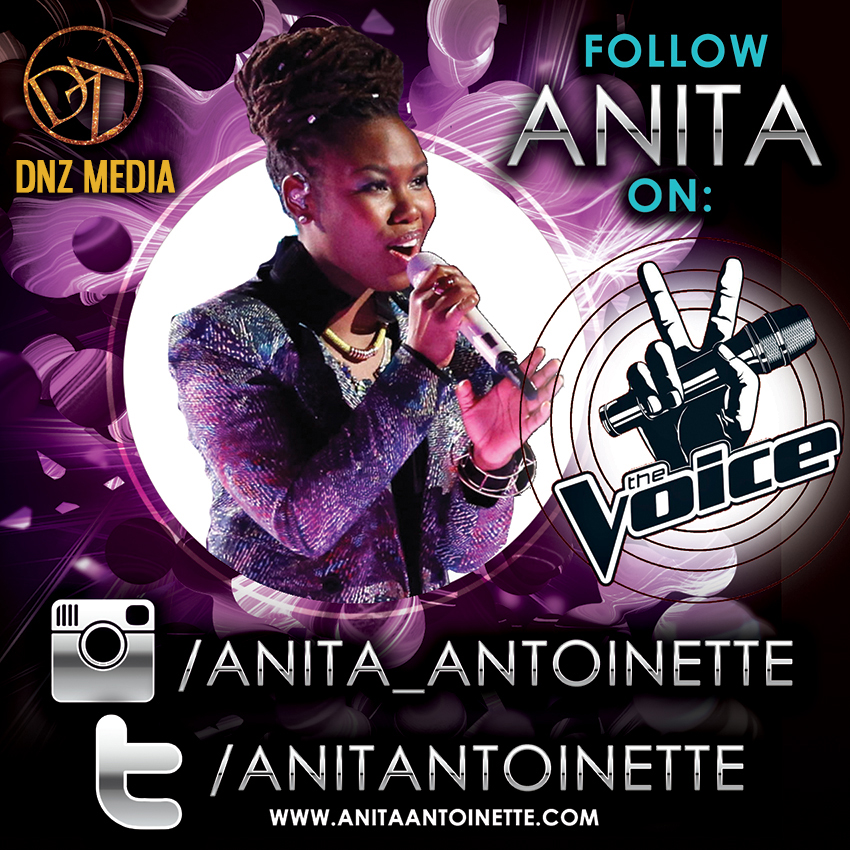 Anita Antoinette and The Voice Wildcard Rounds!