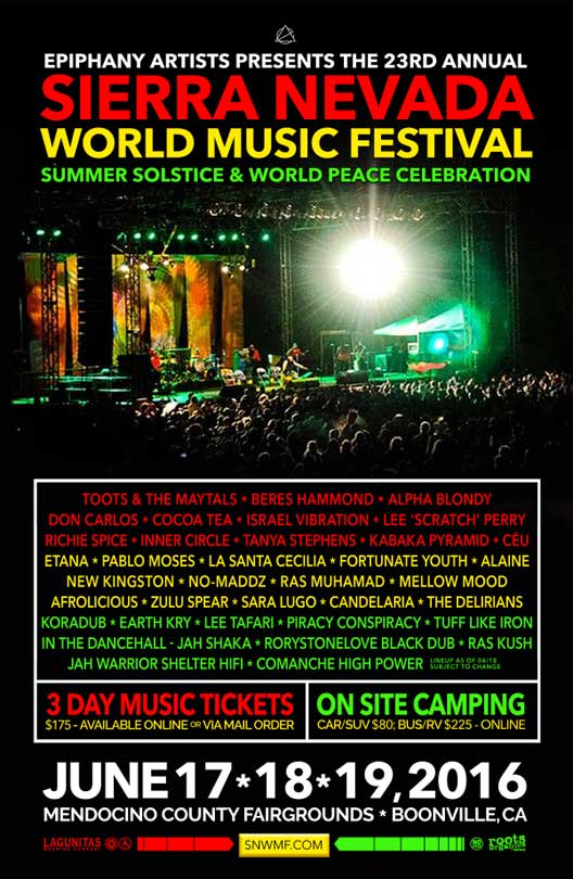 An April Shower of Artists Added to SNWMF 2016- Island Stage Magazine