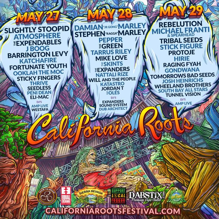 THE 7TH ANNUAL CALIFORNIA ROOTS MUSIC AND ARTS FESTIVAL- Island Stage Magazine
