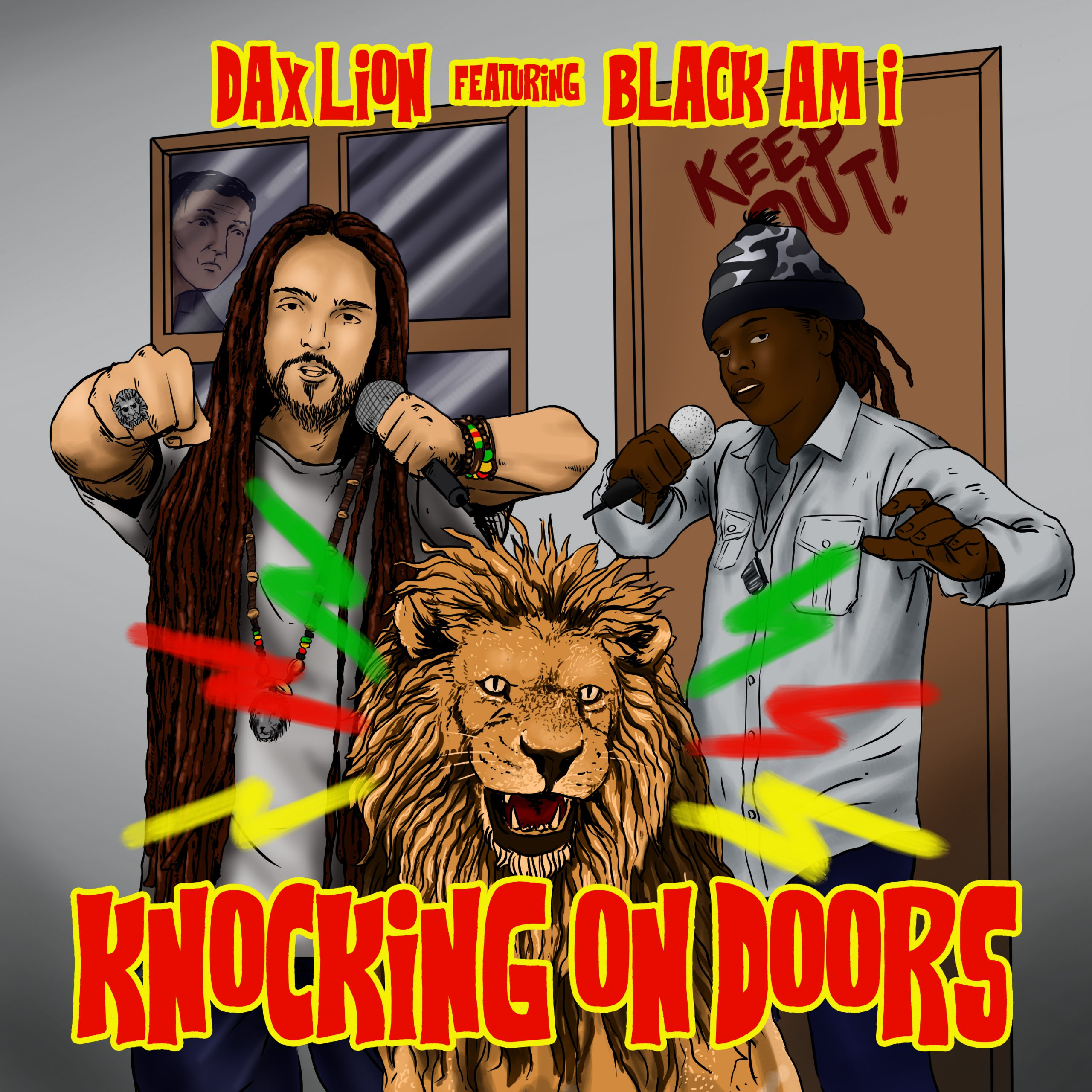 """RELEASE: """"Knocking On Doors"""" Dax Lion and Black Am I- Island Stage Magazine"""