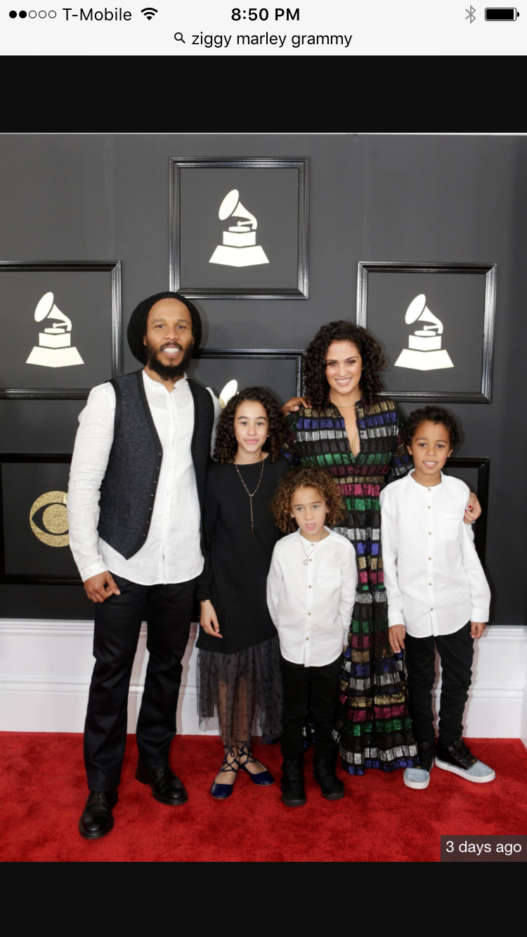 A Day at the Grammys with Ziggy Marley and Family- Island Stage Magazine