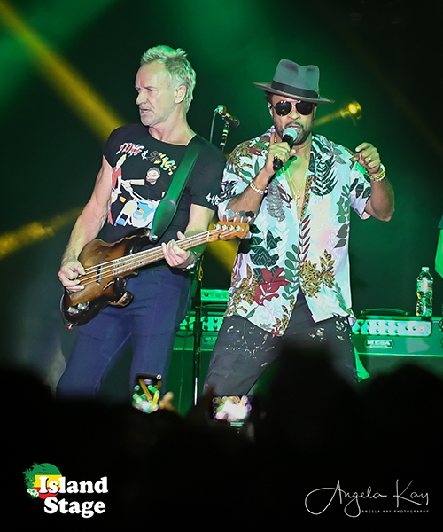 Island Stage Magazine-Sting and Shaggy-44/876 Tour-Denver